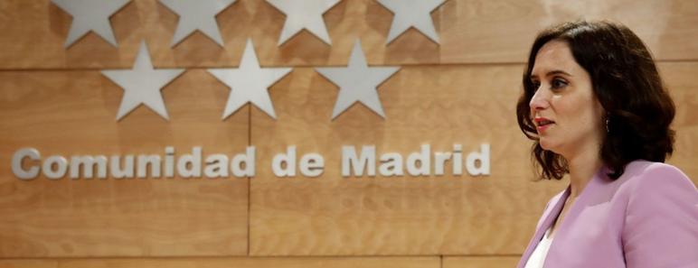 Presidenta de la Comunidad de Madrid